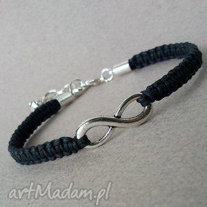 handmade bransoletki black infinity
