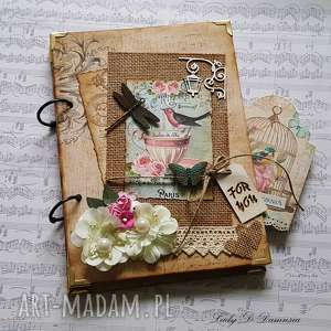 Stylowy pamiętnik for you scrapbooking notesy damusia notes