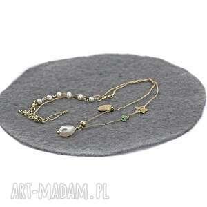 handmade naszyjniki naszyjnik z perłą