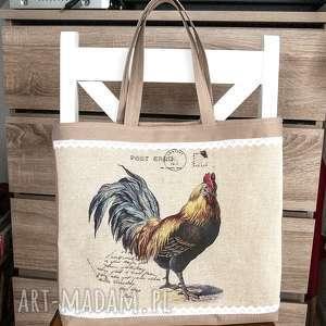 handmade torba, torebka z motywem lawendyi