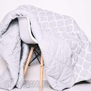 Narzuta fresh grey 120x205cm od majunto koce i narzuty