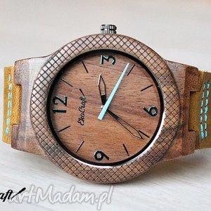 zegarki drewniany zegarek eagle, zegarek, drewniany, orzech, włoski