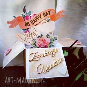 Prezent Kartka stojąca na rożne okazje , kartka, dziecko, roczek, prezent, jubilaci