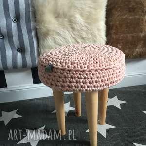 hand made stołek grzybek