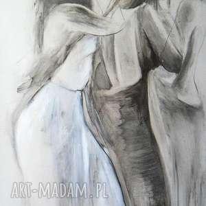 ladies, duży-obraz, kobieta-obraz, na-ścianę, czarno-białe, grafika-kobieta,