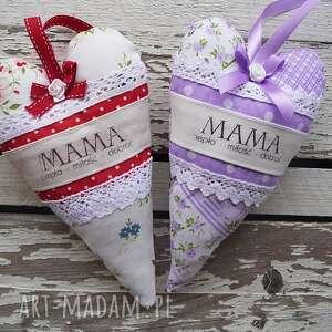 serduszko dla mamy, majuhandmade, matka, święto, serce, dom
