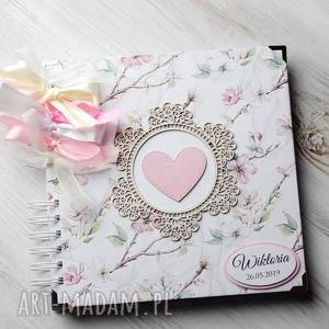 album - pamiętnik - księga, chrzest, prezent, roczek