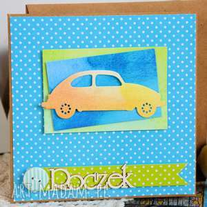 kartki kartka - roczek 1, kartka, roczek, samochód, chłopczyk, pierwsze
