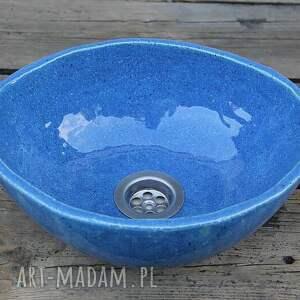 umywalka łódka, ceramiczna umywalka, polska ceramika, ręcznie lepiona