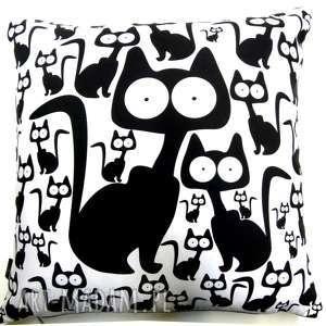 handmade poduszki poduszka z kotami