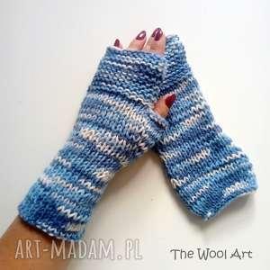 rękawiczki mitenki, rękawiczki, prezent, jesienne, wełniane