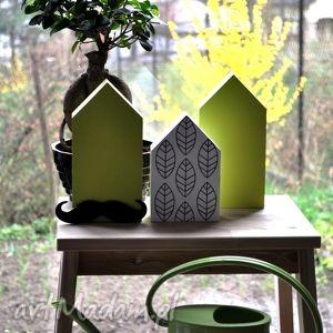 Domki drewniane - zestaw wiosenny, dziecięcy, domek, domki, drewniane, drewna, balkon