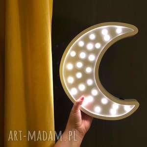 pokoik dziecka podświetlana lampka - księżyc, księżyc, lampka, dziecko