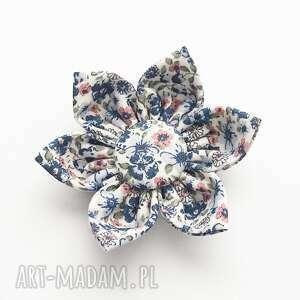 spinka do włosów kwiatek ella blue, kwiatek, ozdoby włosów