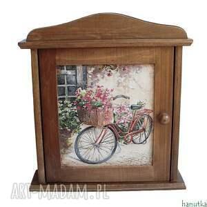 rower - szafka na klucze, prezent, schowek, skrzyneczka, klucz, romantyczne