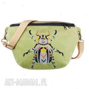 nerka xxl chrząszcz, z haftem, oversize, duża