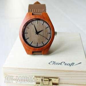 Prezenty świąteczne! Drewniany zegarek chaffinch zegarki ekocraft