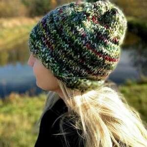 hand-made czapki wełniana czapka