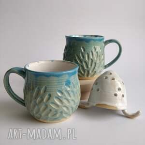 kate maciukajc zestaw dwóch kubków z zaparzaczem, kubek do herbaty