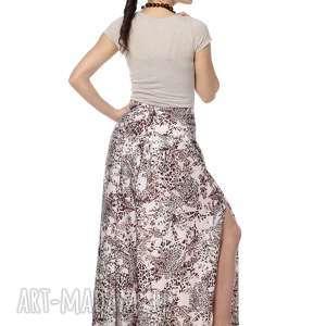 wyjątkowe, wiązane spodnie, centki, jedwab i bawełna, designerskie