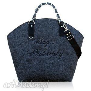 handmade torebki hobo black! lets shine on!