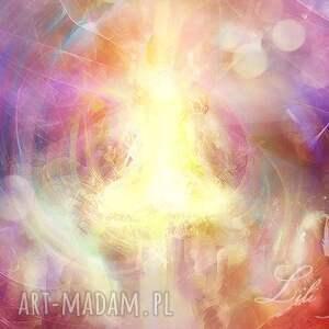 Prezent Obraz energetyczny - Iluminacja płótno, obraz, energetyczny, ezoteryczny