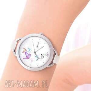 Zegarek - motyle zegarki yenoo zegarek, bransoletka, skórzany