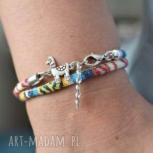 bransoletka boho lama titicaca, etniczna, etniczny styl, boho
