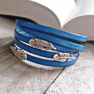 hand-made bransoletki bransoletka skórzana sevda