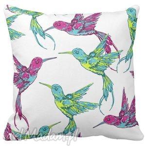 poduszka dekoracyjna koliber tropic 6525, tropic, koliber, koliberki