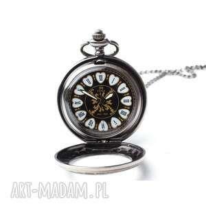 handmade zegarki elegancja czerni iii
