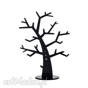 stojak na biżuterię czarne drzewo nowoczesny design - ekspozytor
