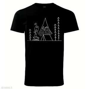 tatra ar by oliwia wysocka camping pod tatrami czarna koszulka
