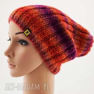 Prezent kolory do wyboru - długa czapka, czapeczka, długa, ściągaczowa