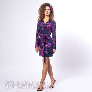 GABRIELA MINI - MAGIC ROSE, żakietowa, elastyczna, elegancka