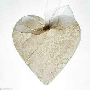 cerama zawieszka porcelanowa serce - ozdoby choinkowe, święta