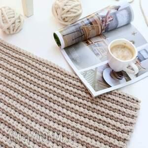 dom prostokątny dywan ze sznurka bawełnianego 74 cm x 120