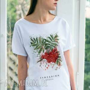 Jarzębina T-shirt Oversize, oversize