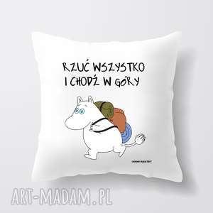 Prezent Licencjonowana poduszka Muminki Mała Mi, dlaniej, prezent, muminki