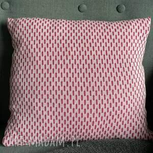 poduszki poszewka na poduszkę 40x40 cm bawełna żakard jasny róż 2