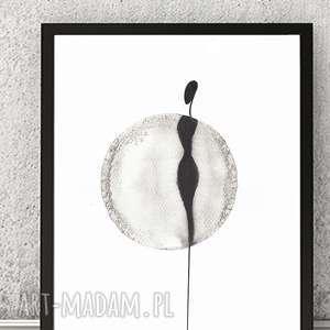 grafika kobieta minimalizm, obraz symbol, cykl prac About real relationship