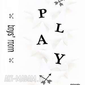 Play - girlanda strzałki pokoik dziecka pracowniaktorejniema