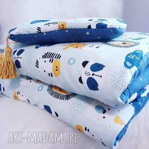 komplet do łóżeczka bawełna premium muślin, pościel, bawełna