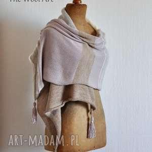 handmade szaliki wełniany letni szal