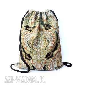 plecak worek india, plecak, worek, etno, podróżny, kolorowy