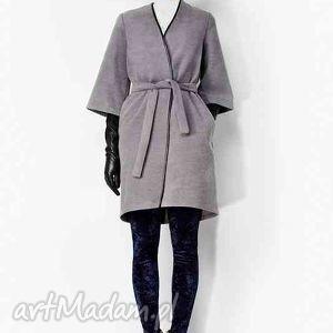 ręcznie zrobione płaszcze płaszczyk wełniany