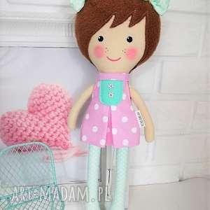 my first doll luizka, lalka, zabawka, przytulanka, prezent, niespodzianka, dziecko