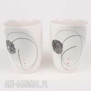 kubeczek do kawy cerama - ręcznie malowane, ceramika autorska, kubek do kawy