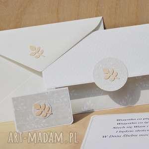 kopertówka ślubna plus bilecik do prezentu - kopertówka, ślub, ślubna