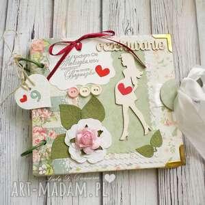 Prezent Pamiętnik ciążowy/oczekiwanie, ciąza, mama, narodziny, pamiętnik, dziecko